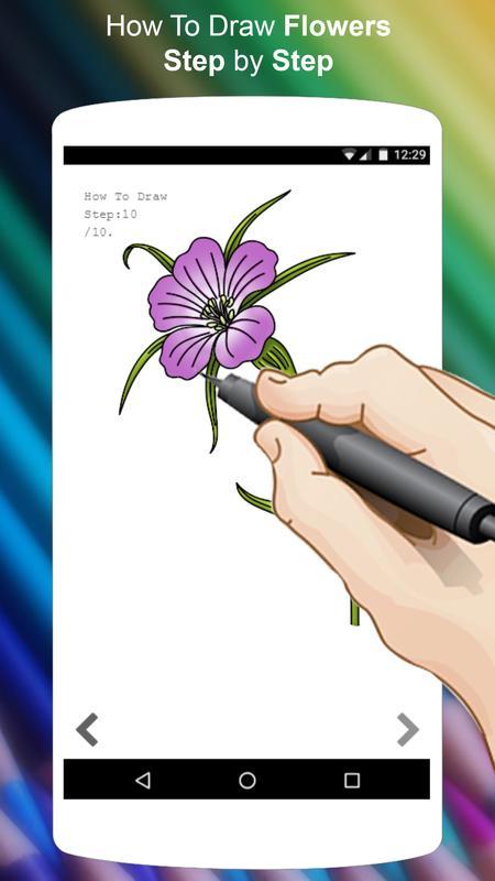 Come Disegnare I Fiori Disegnare Passo Dopo Passo For Android Apk