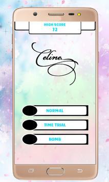 Celine Dion Piano Tiles screenshot 2