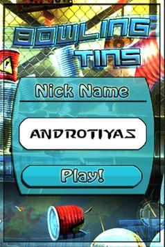 Bowling Tins Free apk screenshot