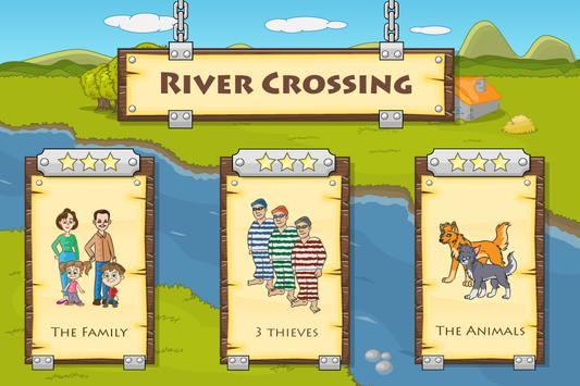 River Crossing : Logic Puzzles poster