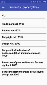 Intellectual property laws poster