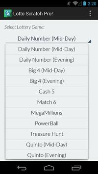 PA Lotto Scratch Pro! screenshot 2