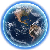 Earth 3D LWP icon