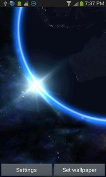 Earth 3D LWP apk screenshot