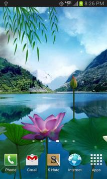 Lotus Pond Live Wallpaper apk screenshot