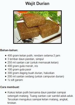 Aneka Macam Resep Kue Basah apk screenshot