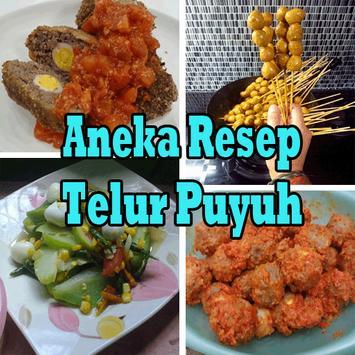 Aneka Resep Telur Puyuh poster