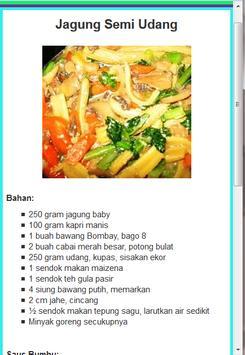 Resep Sayur Pilihan 2016 screenshot 7