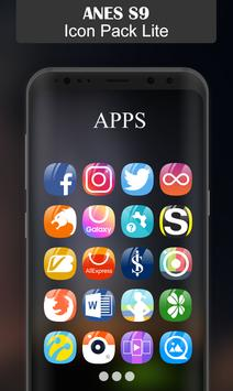 Anes S9 - Icon Pack (Lite) apk screenshot