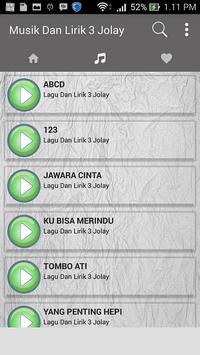 Lagu 3 Jolay (Jomlo Lebay) Ost + Lirik poster