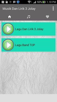 Lagu 3 Jolay (Jomlo Lebay) Ost + Lirik apk screenshot