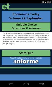 Economics Today 22 Sept Q&A apk screenshot