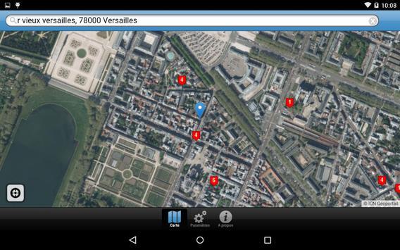 Cartoradio Mobile capture d'écran 10