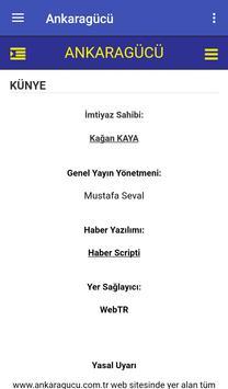 Ankaragücü Gazetesi apk screenshot