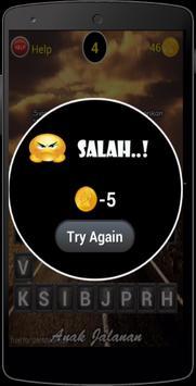 Kuis Anak Jalanan New Game apk screenshot
