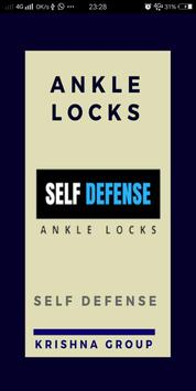 martial art ankle locks poster