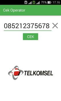 Cek Operator poster