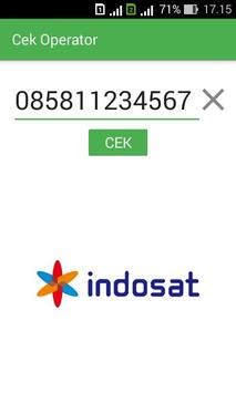 Cek Operator screenshot 1
