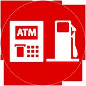 ATM Finder Nearby - Gas Finder icon