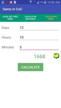 Gem Calculations - CoC screenshot 1