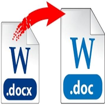 Docx to Doc Converter screenshot 1