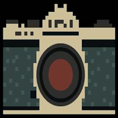 Pixel Photo icon