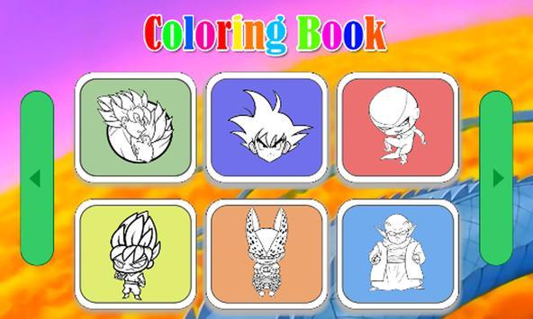 Coloring Book : Saiyan poster