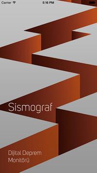 Sismograf poster
