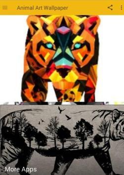 Animal Art Wallpaper poster