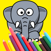 ANIMAL Coloring Book Pages FREE icon