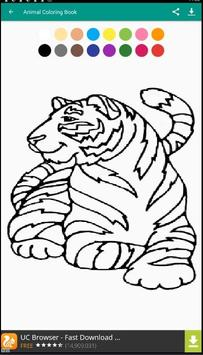 ANIMAL Coloring Book Pages FREE apk screenshot