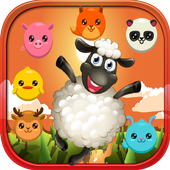 Farm pet crush icon