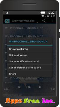 Whippoorwill Bird Sound apk screenshot