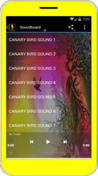Canary Bird Singing poster