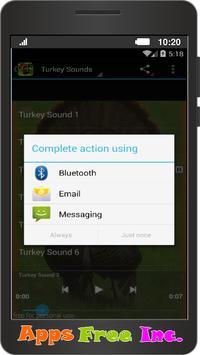 Turkey Sounds apk screenshot
