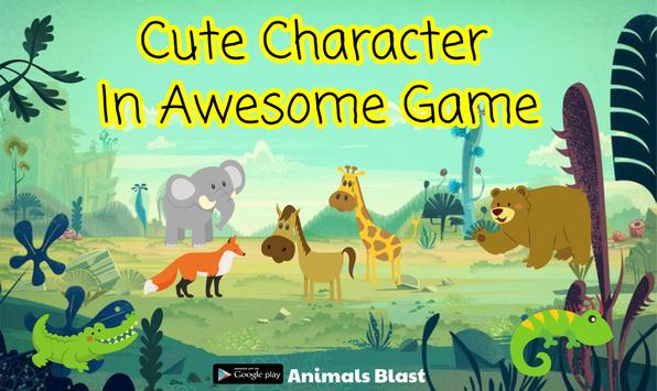 ANIMALS BLAST poster