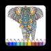 Animal Mandala Coloring Book For Adult