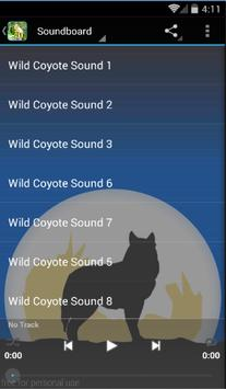 Wild Coyote Sounds poster