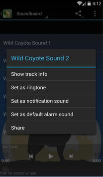 Wild Coyote Sounds apk screenshot