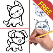 Drawing Animal Tutorial Kids icon
