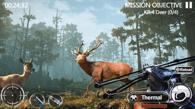 Animal Hunting Forest Shooter screenshot 16