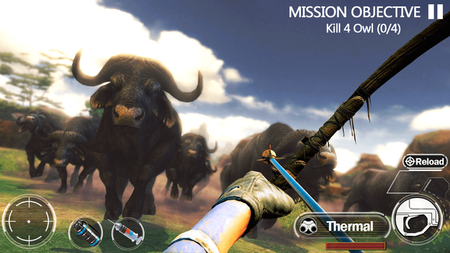Animal Hunting Forest Shooter screenshot 2