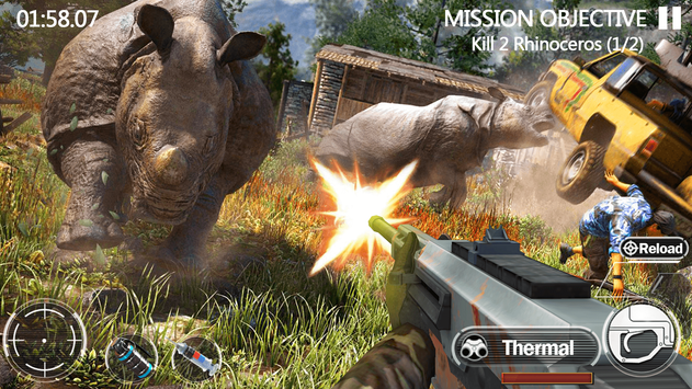 Animal Hunting Forest Shooter screenshot 8