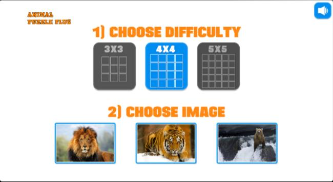 Animal Puzzle poster