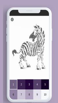Android Için Sayıya Göre Hayvanlar Renk Hayvan Boyama Kitabı Apk