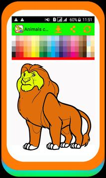 Animal Coloring Pages Cat Coloring Pages For Kids For Android