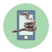 Snake On Screen Hissing Prank icon
