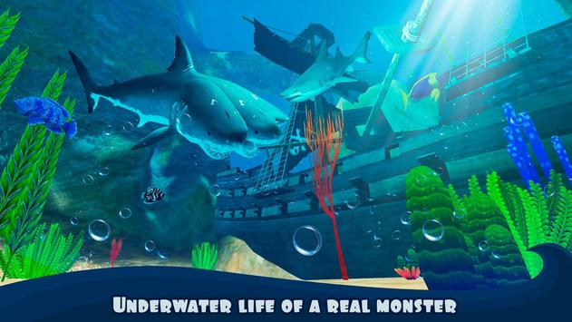 Three Headed Shark Underwater Survival screenshot 11