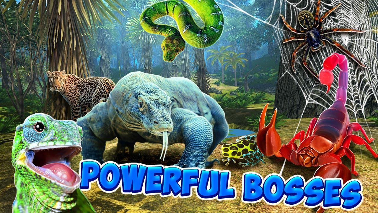 Lizard Simulator Online - Multiplayer Animal Game for