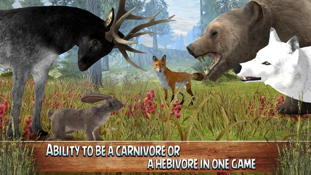 android 用の wild animals world forest simulator apk をダウンロード